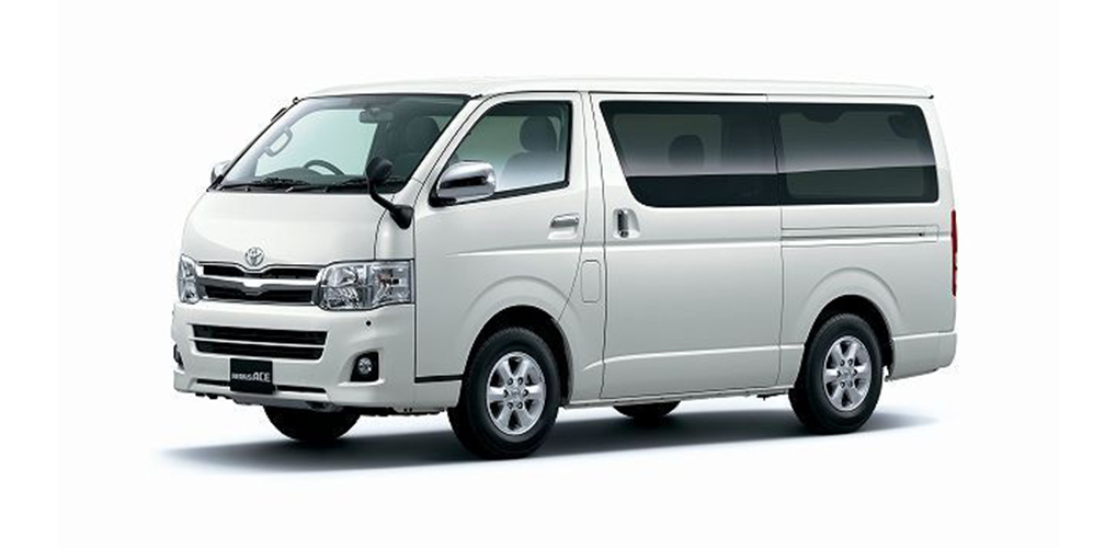 Toyota Hiace Grandia Van For Rent Cdo